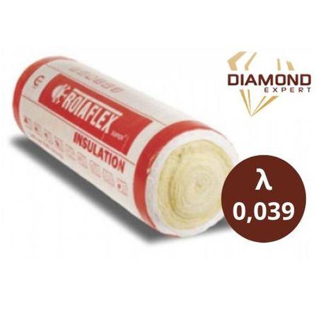 Wełna Mineralna - Na Poddasze- 15 cm - Rolki 0,039 - Diamond Expert