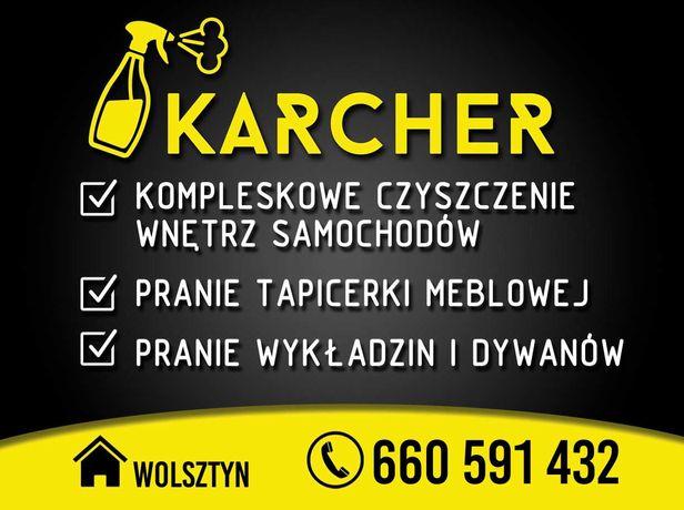 Karcher Wolsztyn - pranie tapicerki meblowej, samochodowej i skórzanej