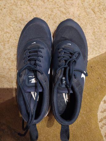 Buty- Nike granatowe