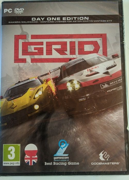 Nowa gra GRID 2019 pc dvd