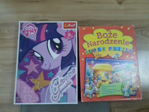 Puzzle Boże Narodzenie i My Little Pony
