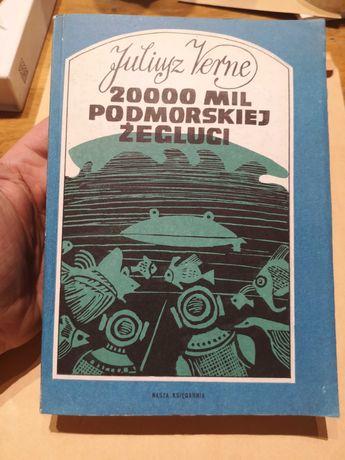 "Juliusz Verne ""20000 Mil podmorskiej żeglugi"""