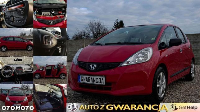 Honda Jazz 2012*1.2*Alufelgi*Wielofunkcyjna Kierownica*Elektryczne szyby