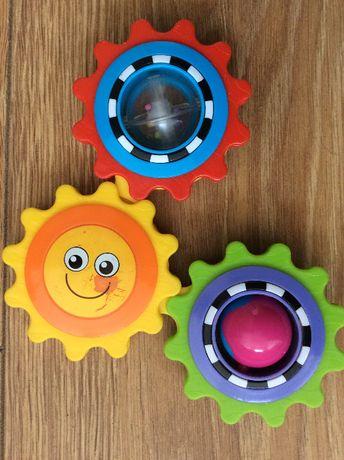 Zabawka trybiki zębatki grzechotka dla maluszka