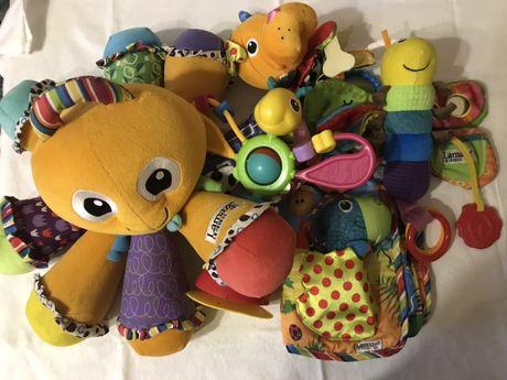 Lamaze zabawki pluszaki dla dziecka niemowlaka