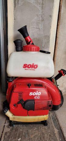 Продам в отличном состоянии бензо опрыскиватель Solo 450