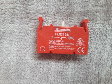 Контакт закритий 8 LM2T C01, контакт открытый 8 LM2T C10 Lovato electr