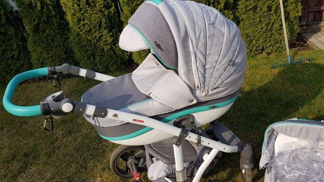 Wózek Adamex 3w1