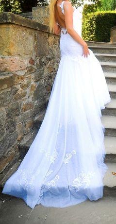 Suknia ślubna w stylu Berta Bridal rozm. S