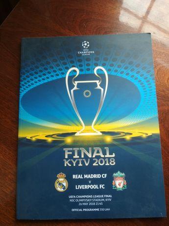 Официальная программа финала Лиги Чемпионов УЕФА