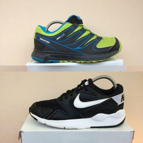 Salomon waterproof Nike ботинки кроссовки 36 -35 р ст. 23см