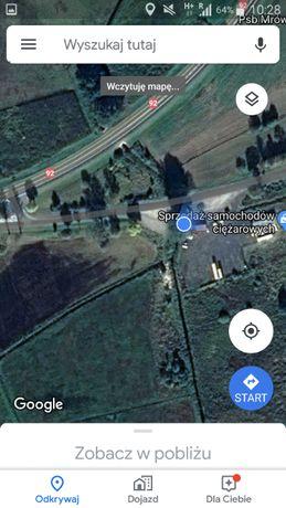 A2 DK92 grunty inwestycyjne Stacja paliw logistyka itp.