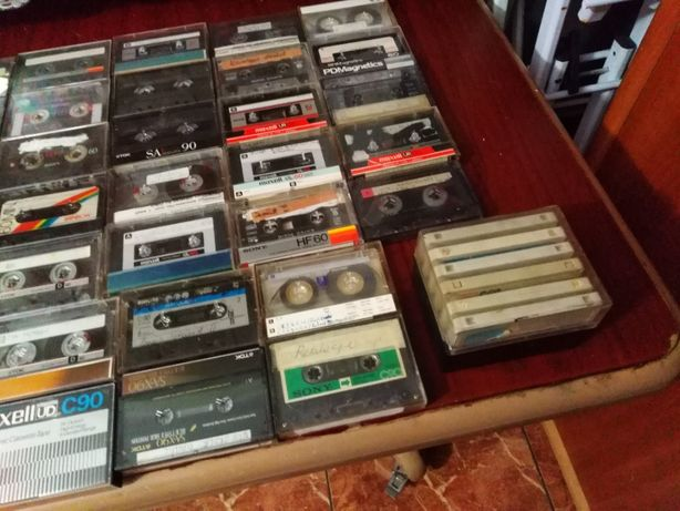 kasety magnetonowe 65 sztuk