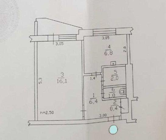 Продам 1 комнатную квартиру Горизонт под ремонт S S4
