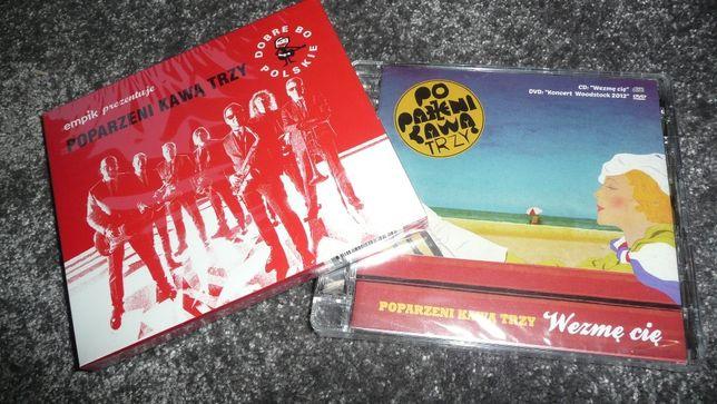 3x Poparzeni kawą trzy cd dvd Nowe Folia