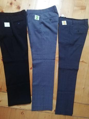 Spodnie wizytowe chłopięce rozmiar 158