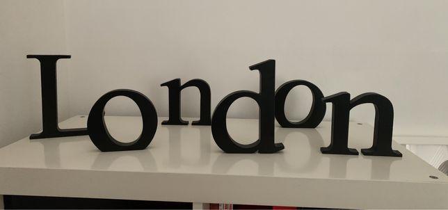 """Letras decorativas """"London"""""""