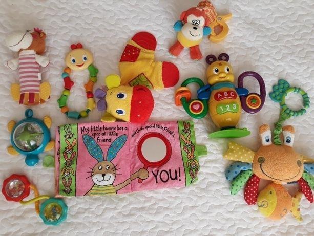 Zabawki dla niemowląt, grzechodki zawieszki, pszczólka Bibi Smily Play