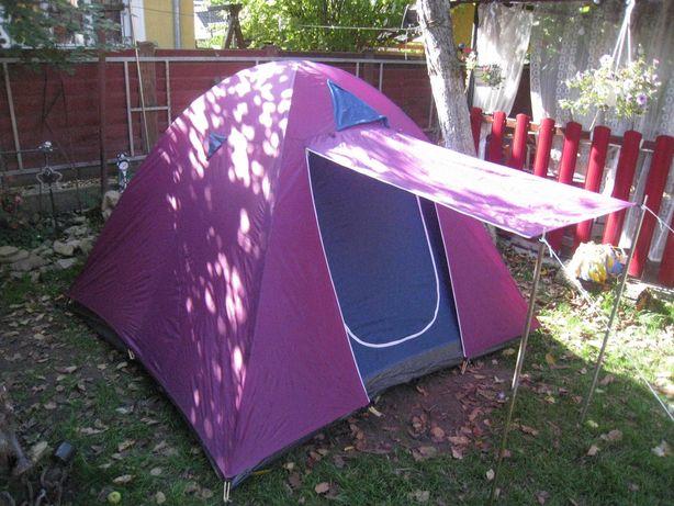 Палатка 3-4 местная двухслойная из Германии