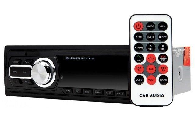 RADIO samochodowe Z BLUETOOTH wyprzedaż MP3 + PILOT SD / MMC, wejście