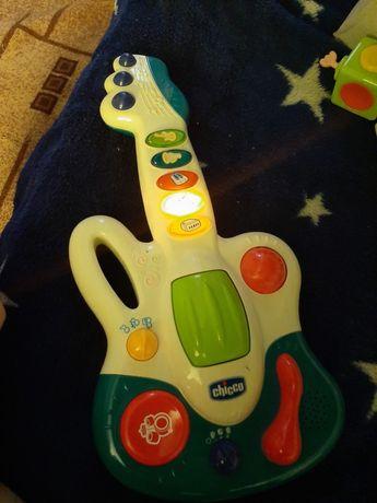Гитара, развивающая, музыкальная игрушка