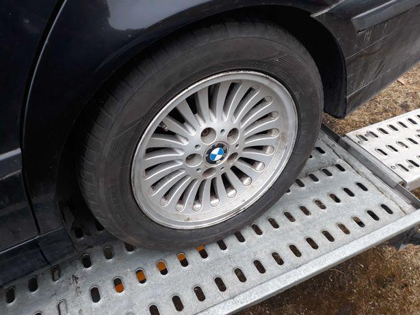 Felgi BMW 16 plus stalowki z oponami do upalania