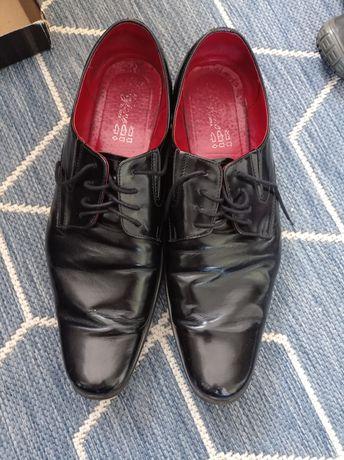 Męskie buty skórzane rozmiar 45
