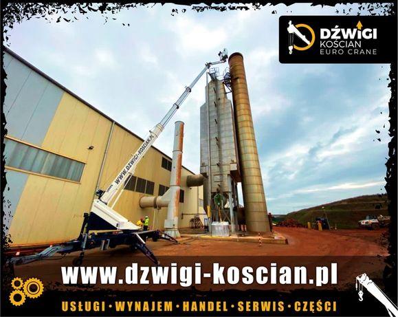 Dźwig dekarski Bocker 36/2400 żuraw ciesielski budowlany