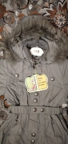 Срочно! Зимняя куртка на девочку