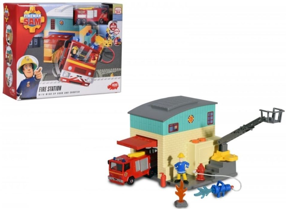 Dickie Toys Strażak Sam Baza Sama Straż Pożarna Strzelce Wielkie - image 1