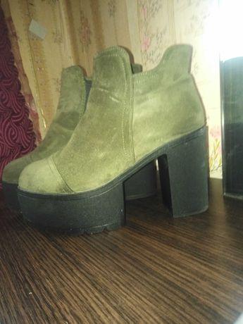 Ботинки женские (замша)
