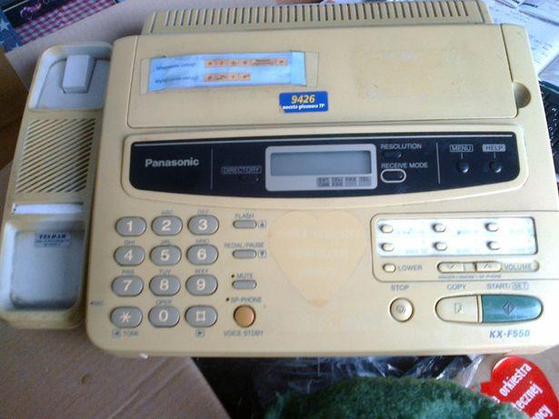 telefax panasonic kx-f550