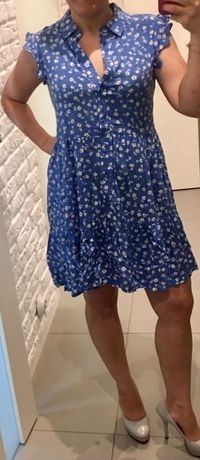Letnia sukieneczka w kwiatuszki rozmiar  S