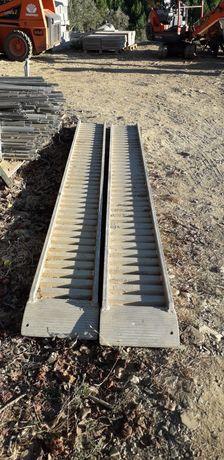 rampas de alumínio de 3.50cm