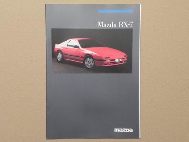 Prospekt - MAZDA RX-7 - 1986 r