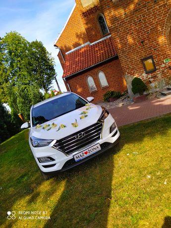 Samochód do ślubu Hyundai tucson!!