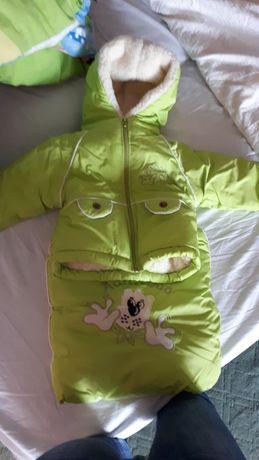 Продам дитячий комбінзон+куртка