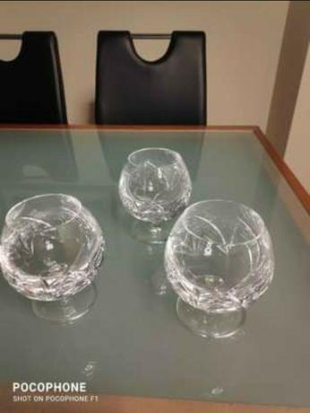 Conjunto de copos de cristal puro