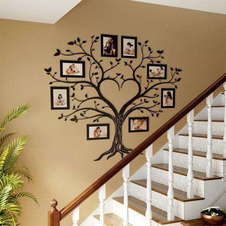 Сімейне дерево з фоторамками, подарунок батькам, сімейне дерево