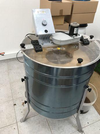 Extrator centrifugador mel