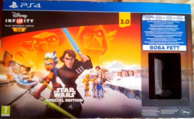 jogo ps4/ps3 Infinity 3.0 Star Wars Special Edition