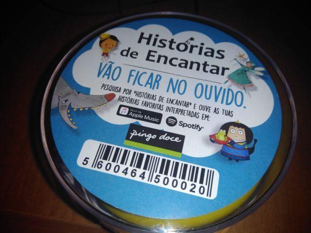 """Coluna """"Historias de Encantar"""" Pingo Doce"""