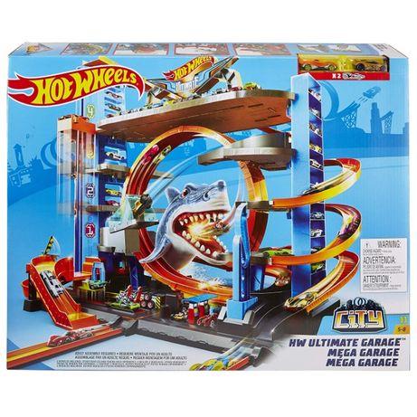 Хот Вилс Гараж с Акулой Hot Wheels City Ultimate Garage with Shark