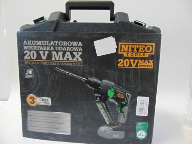 Wiertarka Udarowa Niteo Tools 20V MAX Jak Nowe