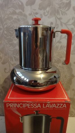 Кофеварка гейзерная LAVAZZA PRINCIPESSA 4 порции (эспрессо)- 120 мл