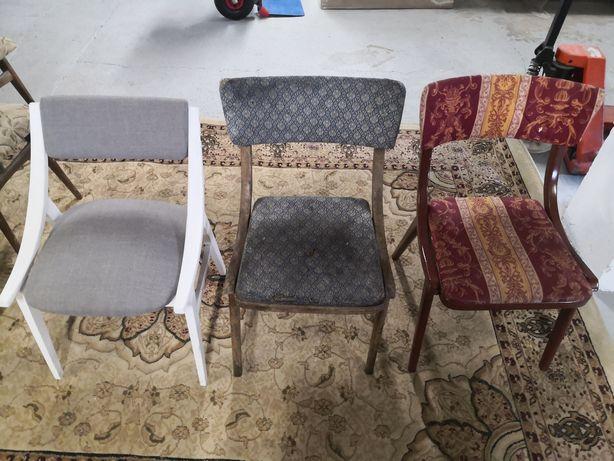 Krzesło skoczek bumerang PRL