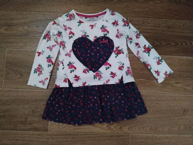 Платье для девочки 98см