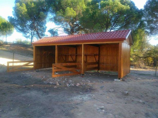 abrigo para animais - Madeira&Conforto