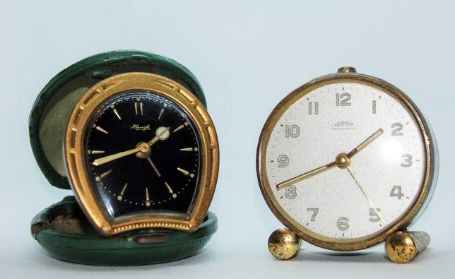 Relógios 1950/60 secretária viagem Kienzle Looping