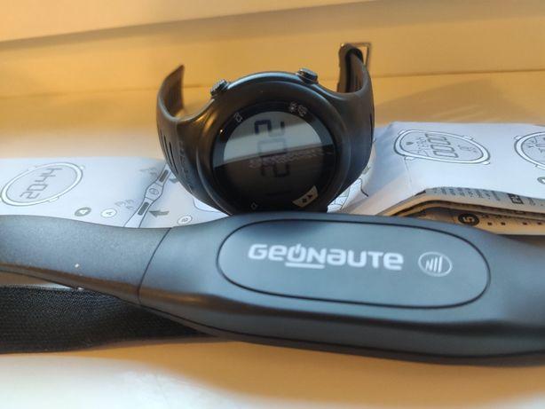 Zegarek sportowy z pulsometrem piersiowym Geonaute